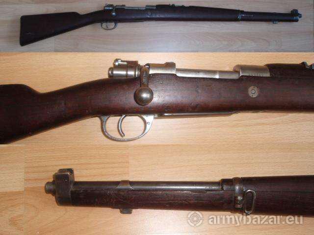 Karabína M1909, raž 7,65mm
