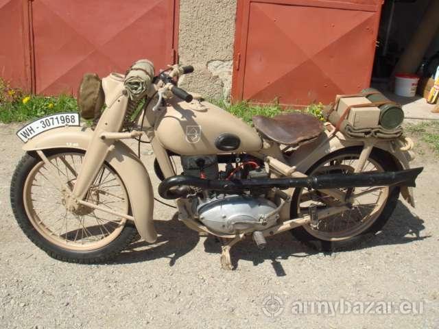 Motocykel dkw 350 - predaj
