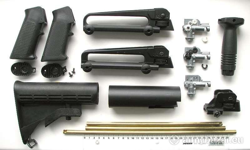 Díly M4 / M16