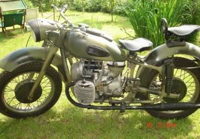 Motocykl K-750