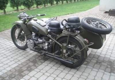 M-72 z bocznym wózkiem