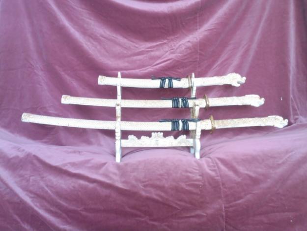 Katana - replika komplet trzech mieczy
