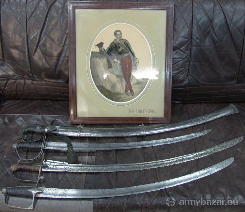 Szabla pruska M1811 duży blucher + temblak