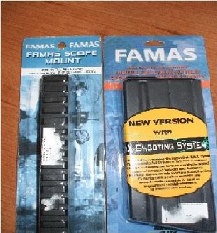 Zásobník a Montážna lišta pre FAMAS F1