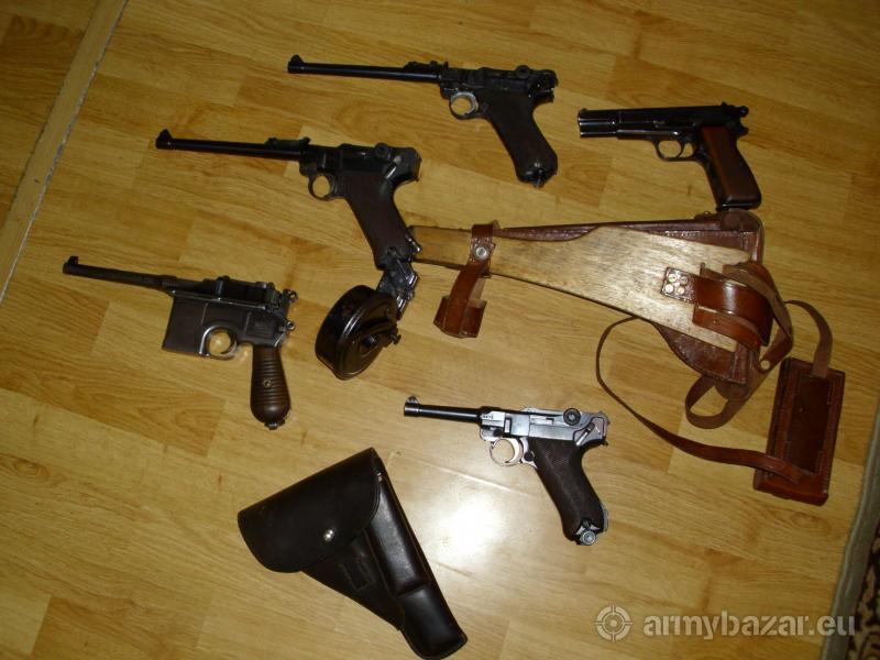 Nemecke pištole z II. sv. vojny