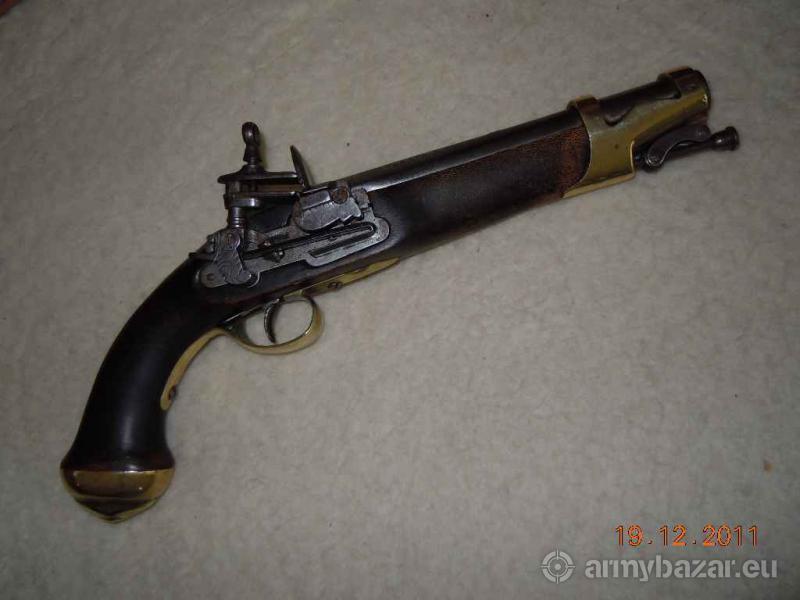 Pistolet skałkowy, hiszpański unikat z XVIII w.