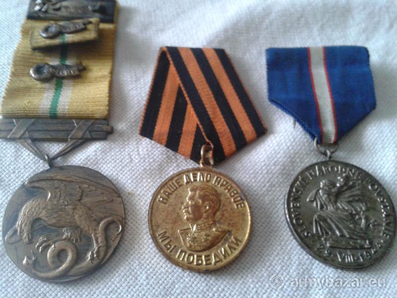 Vojnové medaile