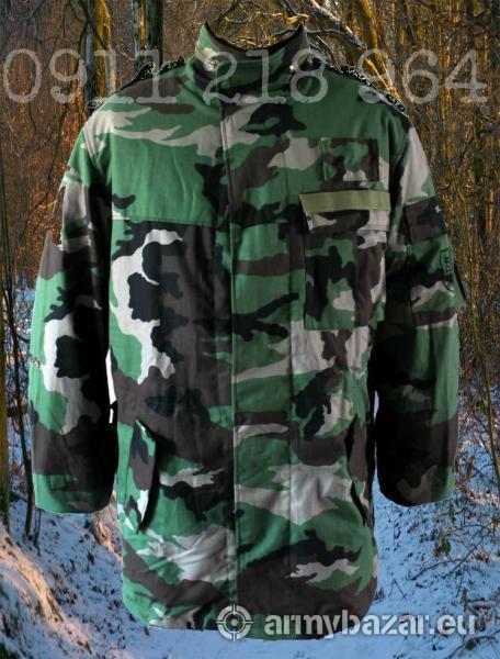 Vojenský kabát vz. 97, nový