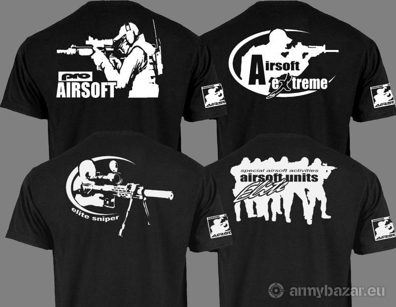 Airsoftové tričká