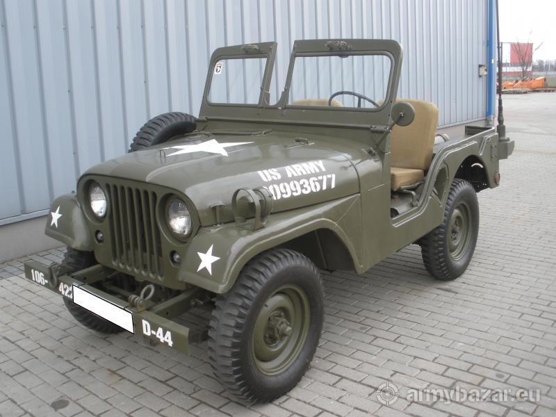 Jeep Willys M 38 A1 MD, rocznik 1955