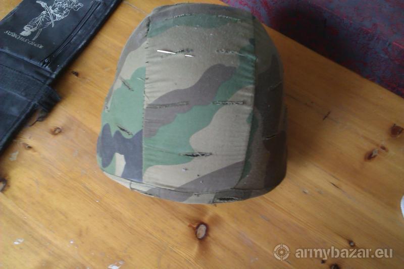 Helma SWAT čierna + poťah woodland
