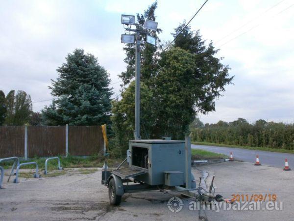 Ex-Military Lighting Set complete + generator