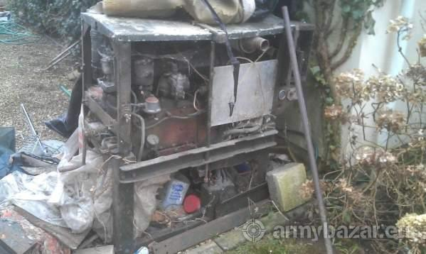 Ex army 6KV coventry climax generator
