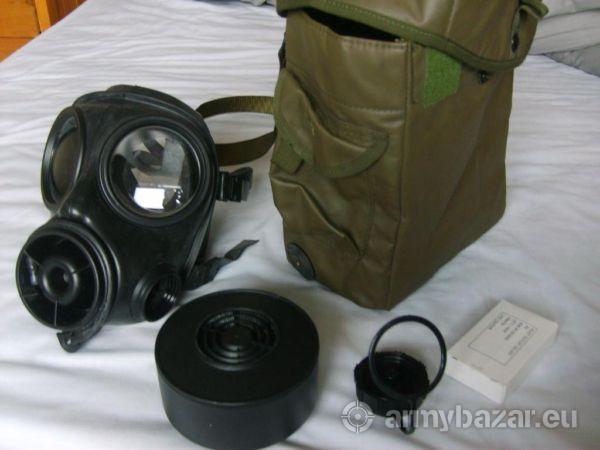 Army issue s10 gas mask nbc chemical warfare