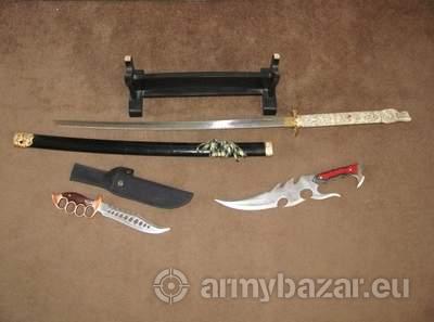 Samuri sword dagger knife