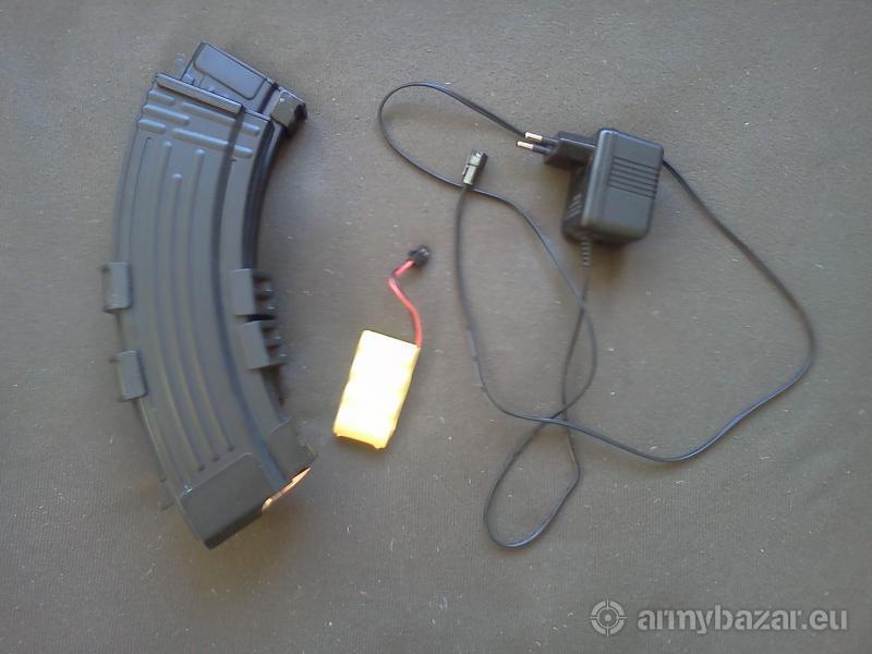 Dvojitý elektrický zásobník pre AK na 1200 ran - A