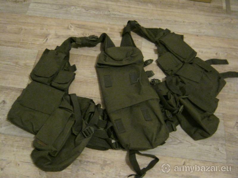 Taktická vesta, batoh 50L, batoh 60L