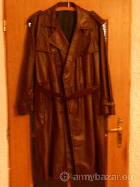 Kožený důstojnický kabát - Prodej 1aad8349bf2