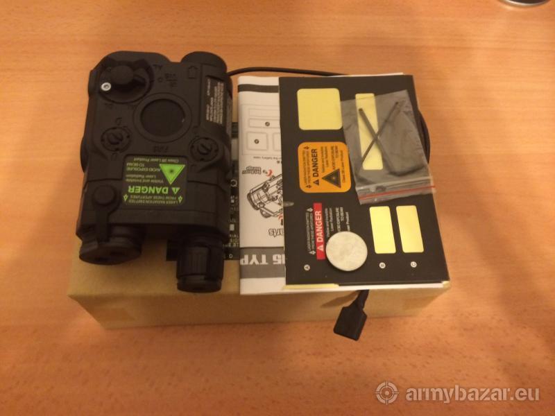 Predám BOX pre laserové ukazovátko pre AN/PEQ-15 č