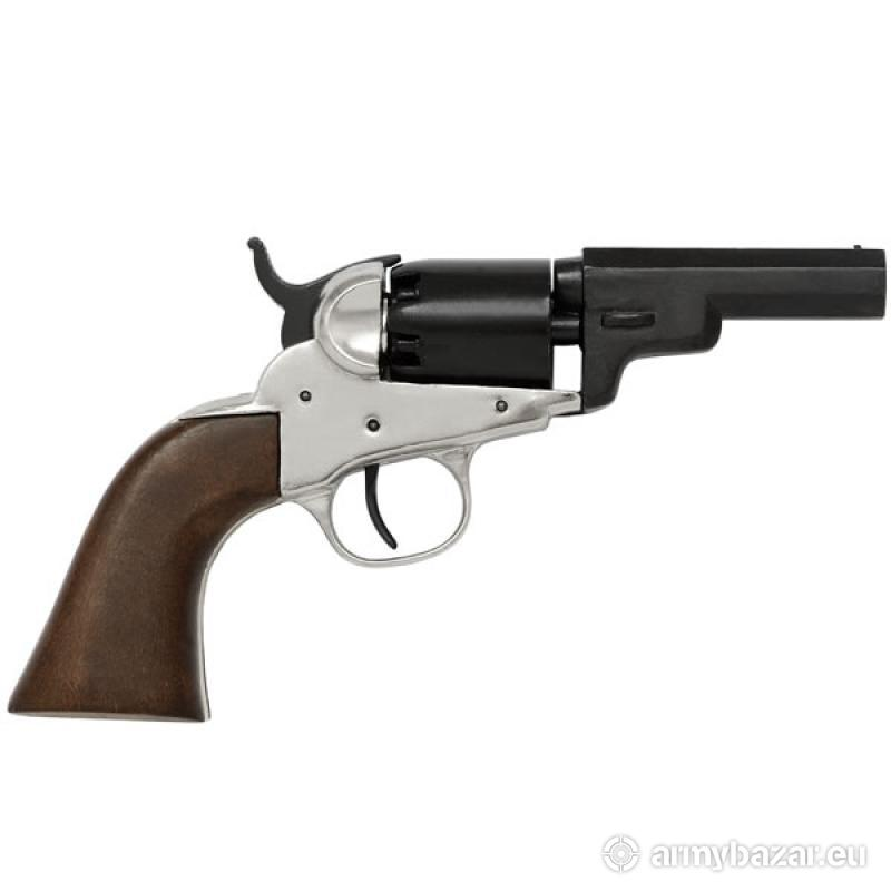 Wells Fargo Remmingtom Navy Revolver Black