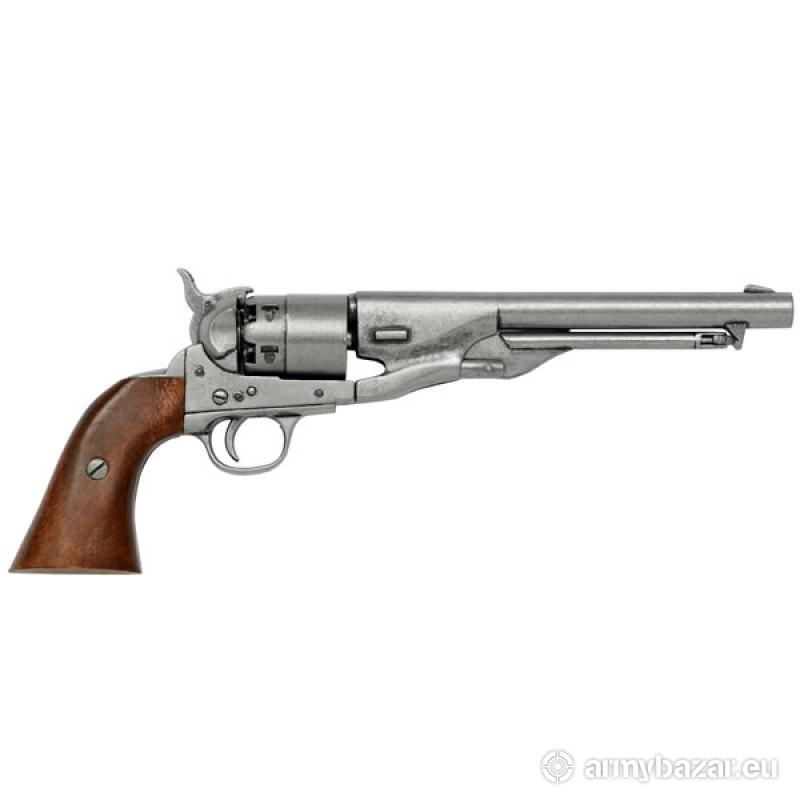Colt Peacemaker With Wooden Handle Long Barrel