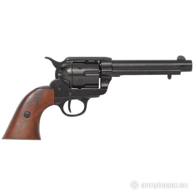 Colt Peacemaker With Wooden Handle Black Finish