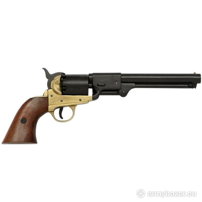 Outlaw Josey Wales Colt Revolver Solid Brass Trim