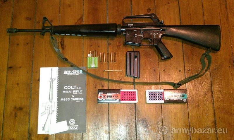 M16A1 Marushin Blowback Metal Replica Rifle