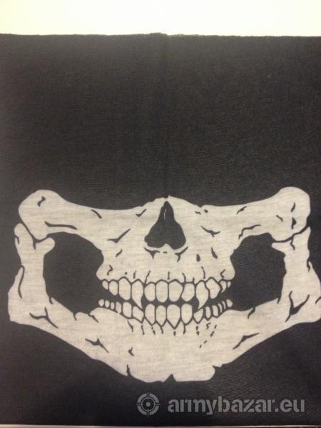 Nákrčník - návlek lebka na obličej