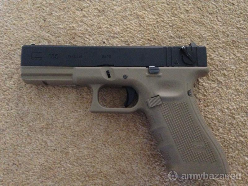 WE Glock 18c Full Auto Pistol