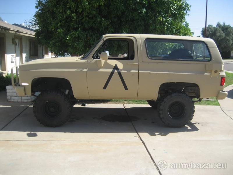 Chevrolet Blazer M1009 Usmc