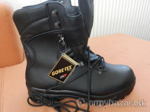 Vojenska obuv goretex - stazene klimat. podmienky