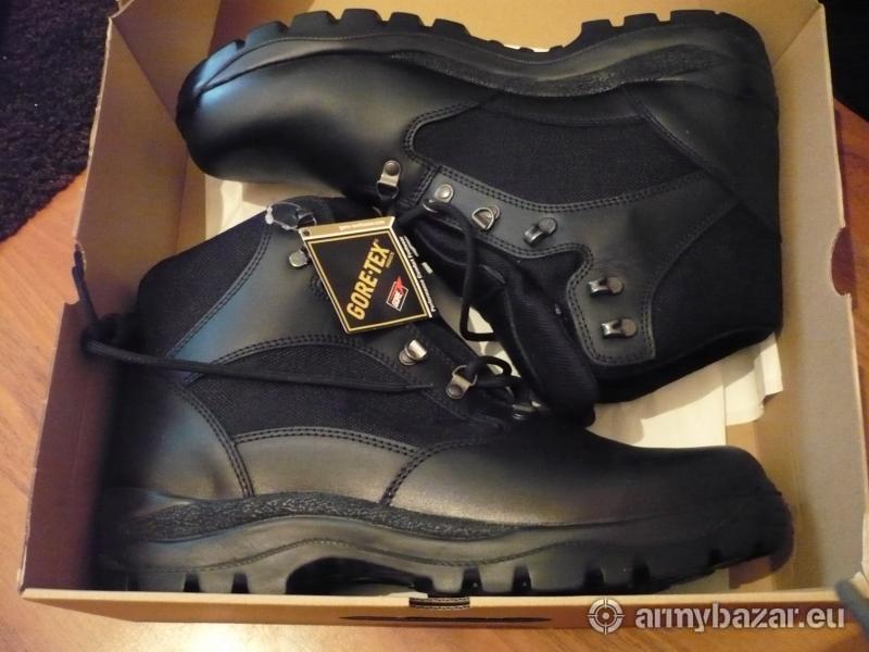 Vojenská obuv Goretex - letne obdobie