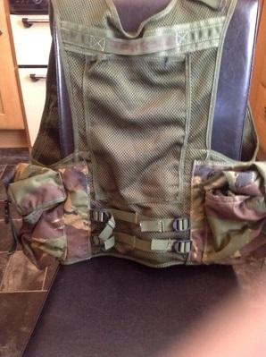 Military assault vest