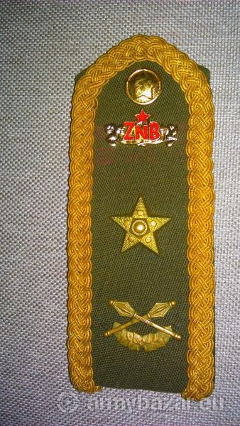 Výložka genmjr. ZNB Ochrana štátnych hraníc ČSSR
