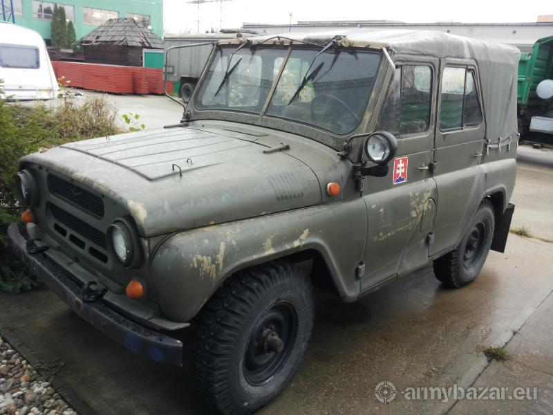 Predám UAZ 469