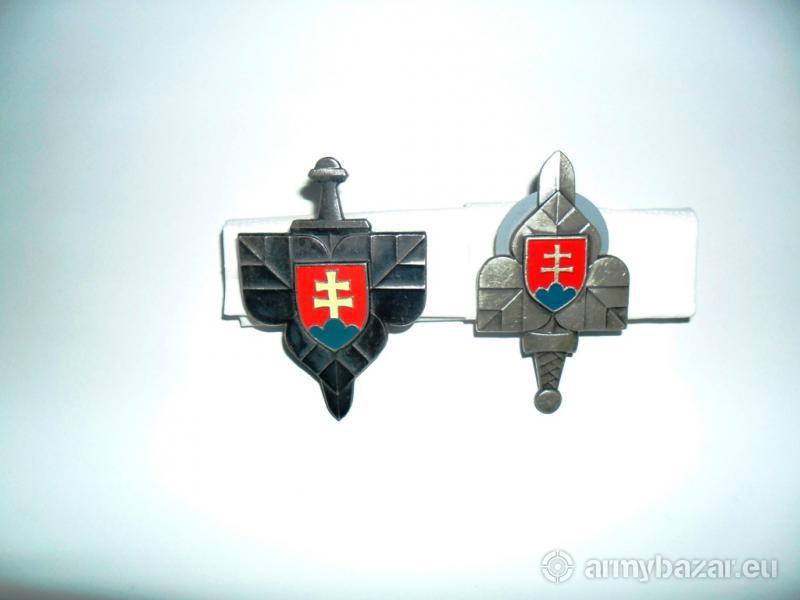 Predám dva vojenské odznaky