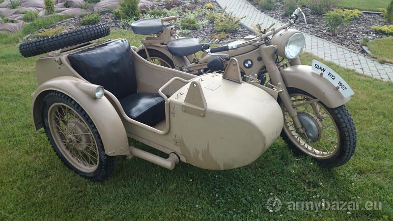 1937 BMW R12 sajdka