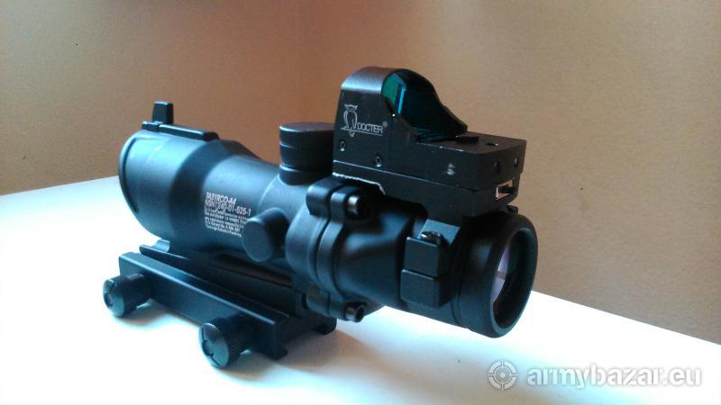 Optika ACOG + kolimátor Docter(Airsoft)