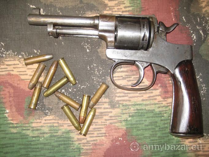 Predám revolver Rast Gasser M 1898