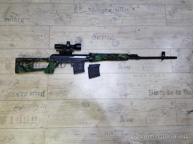Airsoft Sniper SVD Dragunov Wood style - ACM