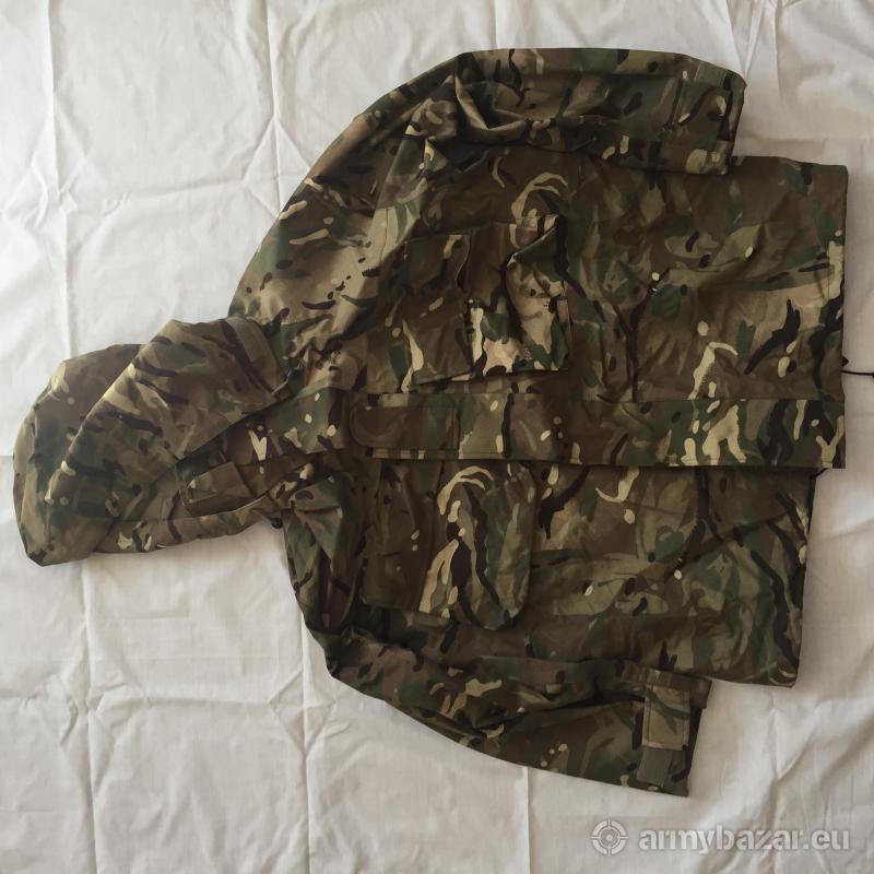 Nepremokavá maskáčová bunda - anglická armáda