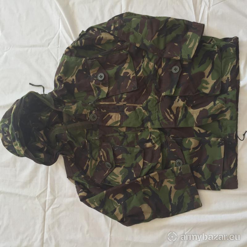 Maskáčová bunda anglickej armády