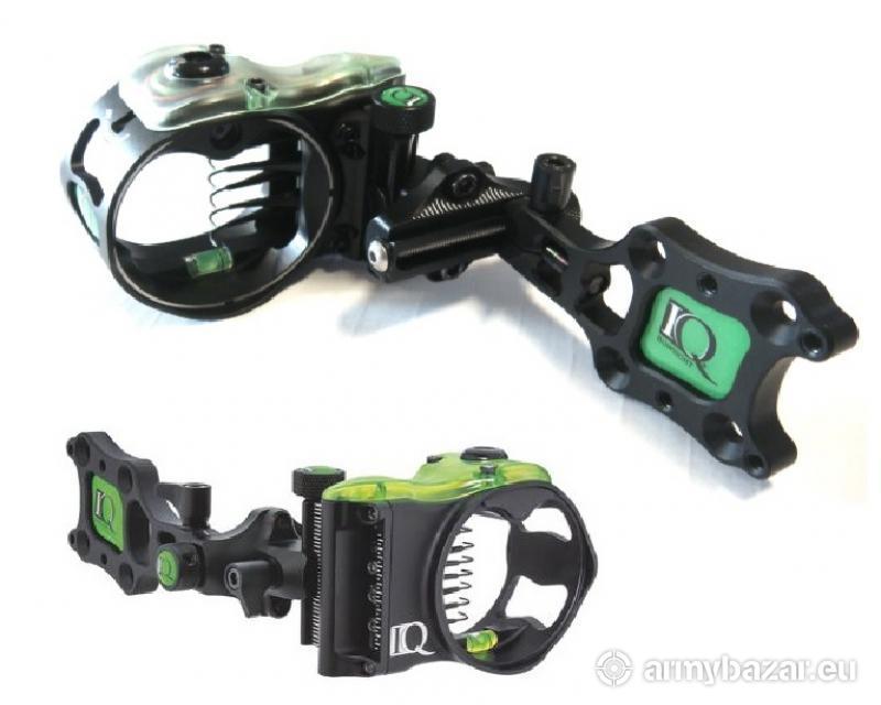 IQ lovecký zameriavač s retina lock 5 pin black
