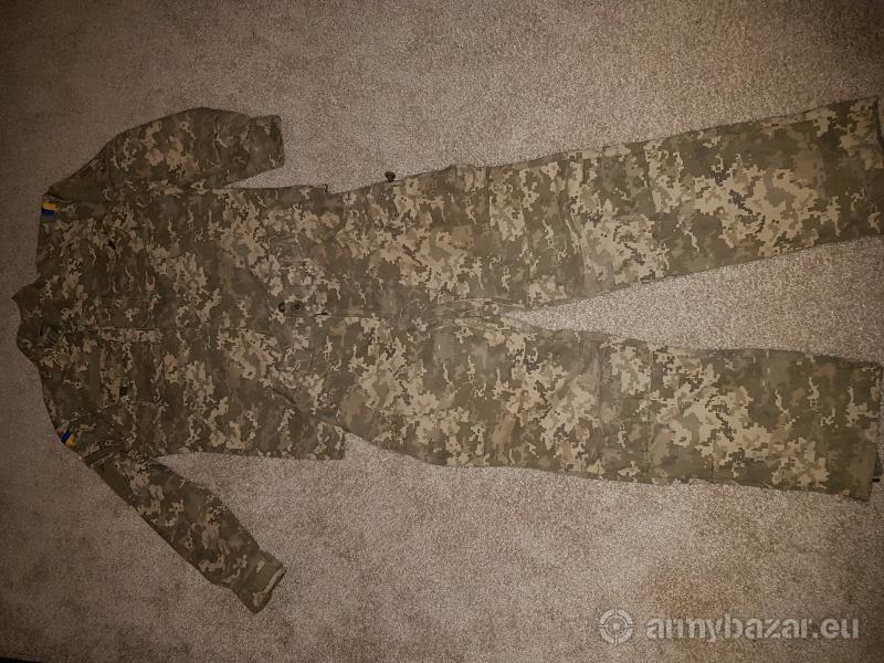 Originál maskáče ukrajinskej armády