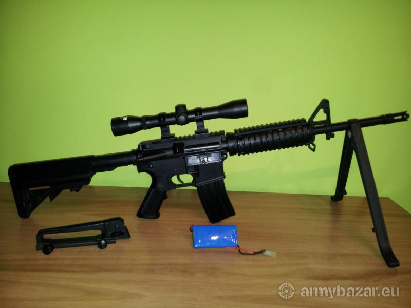 Airsoft M4A1 Upgrade 140m/s (465fps)