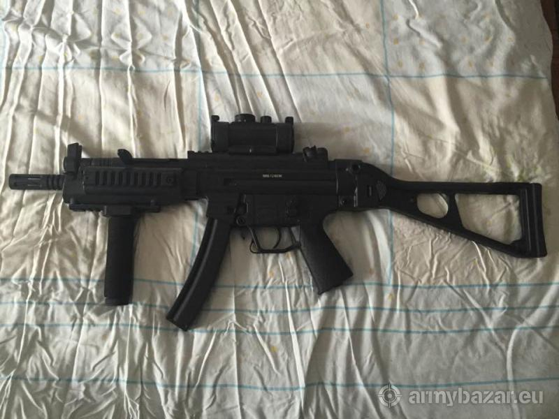 GSG 522 RIS Full Metal BlowBack