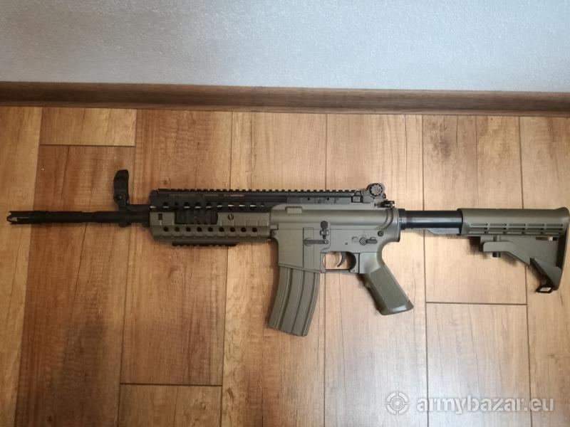 Airsoft TAN M4 RIS METAL AEG (410fps)