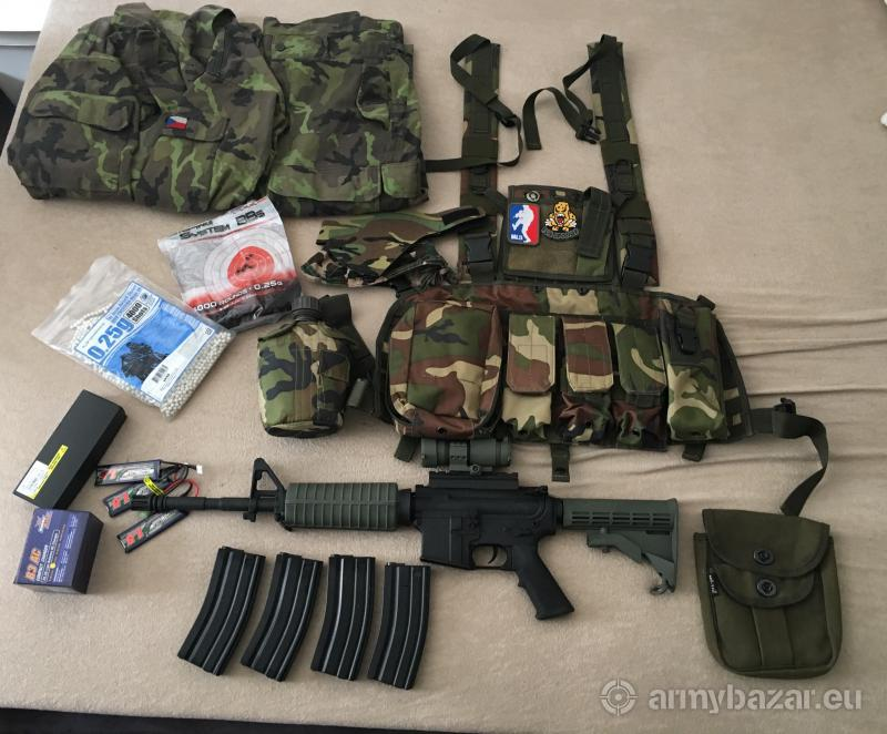 M4 + cele vybavenie