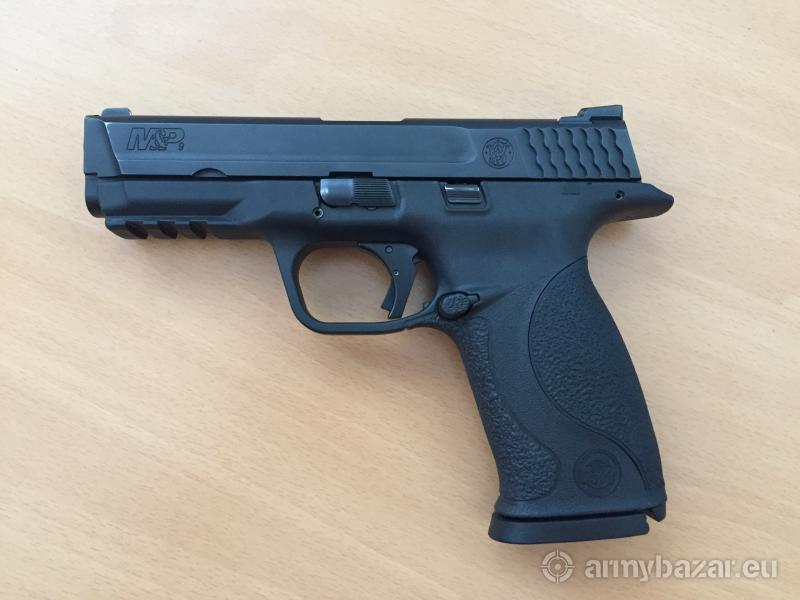 Smith & Wesson M&P 9 + Apex Aluminum trigg